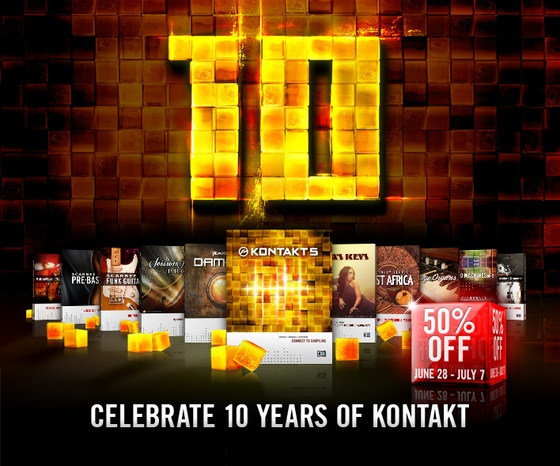 Native Instruments 10 Years of Kontakt